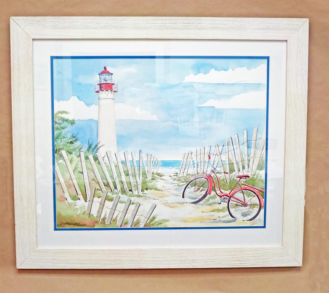 Seaside Light - Cape May copyright Donna Elias