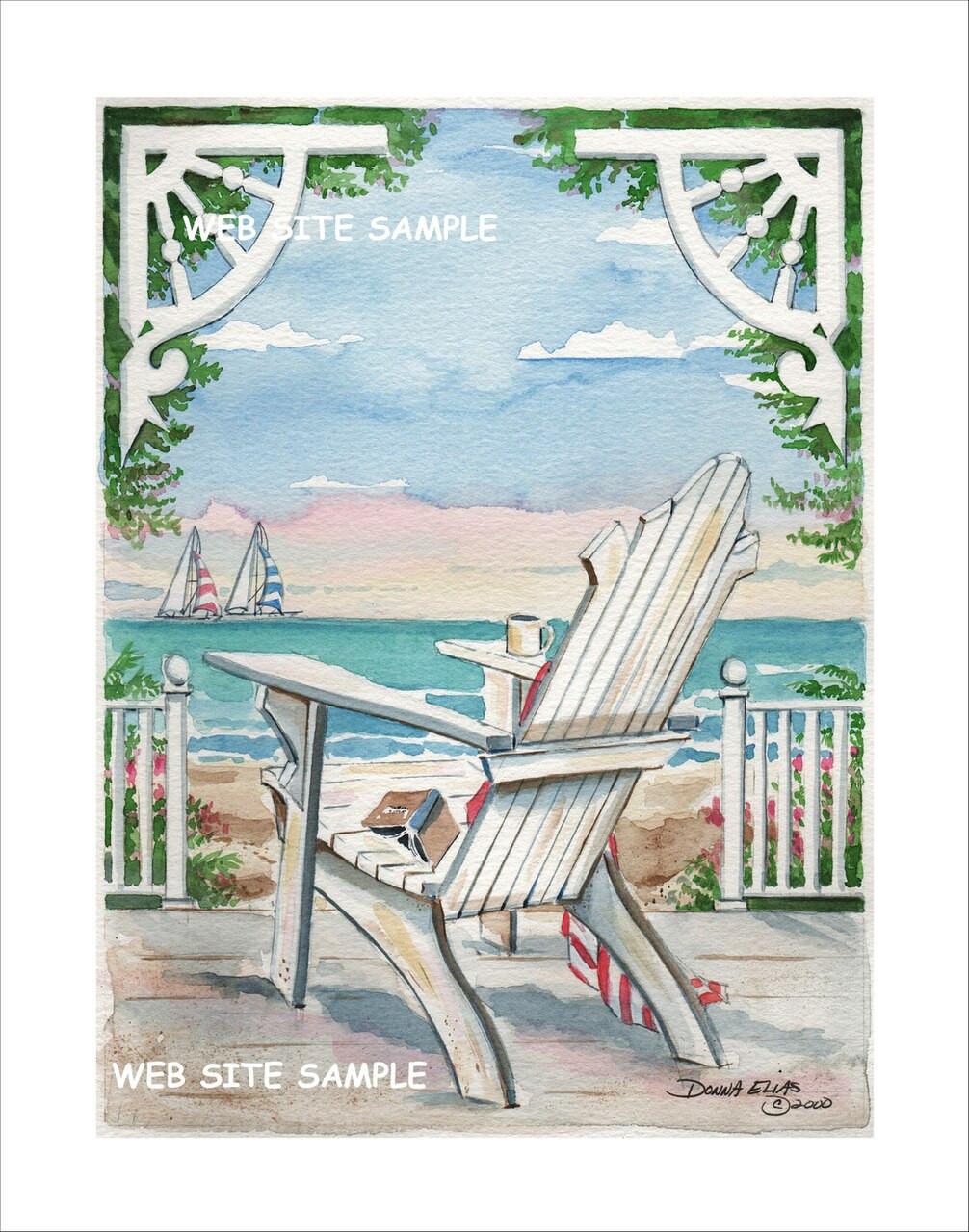 Porch Chair Two copyright Donna Elias