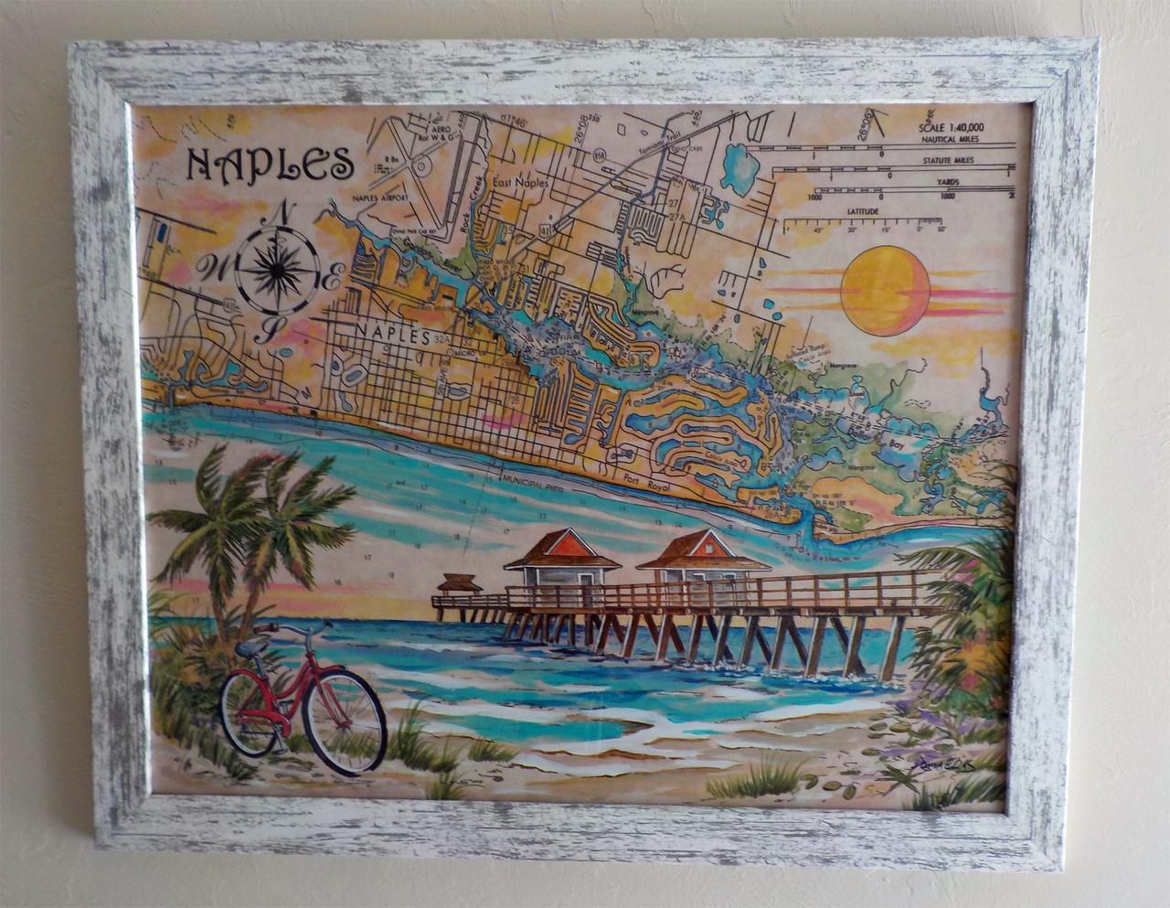 Charting Naples Florida copyright Donna Elias