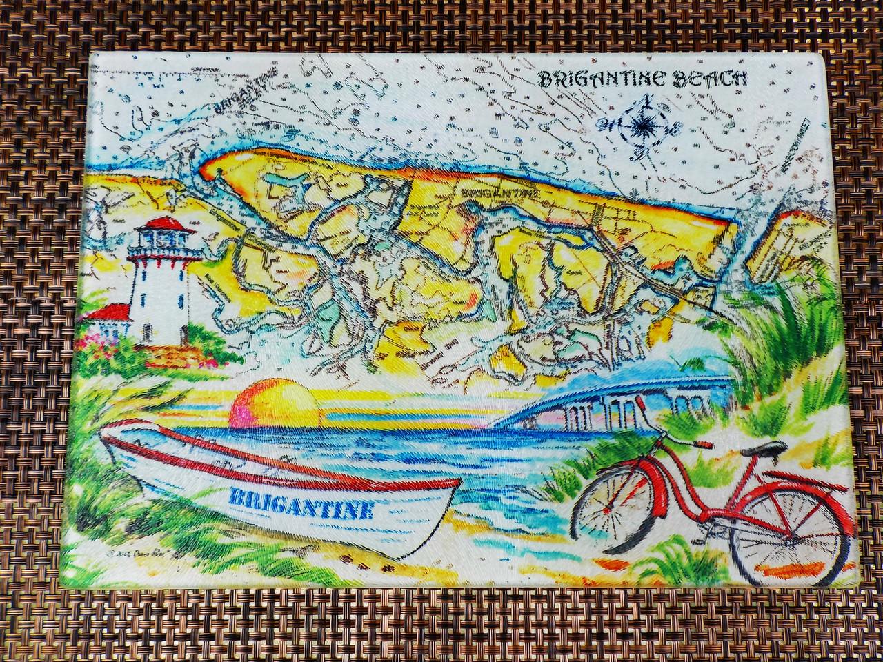 Charting Brigantine Beach copyright Donna Elias