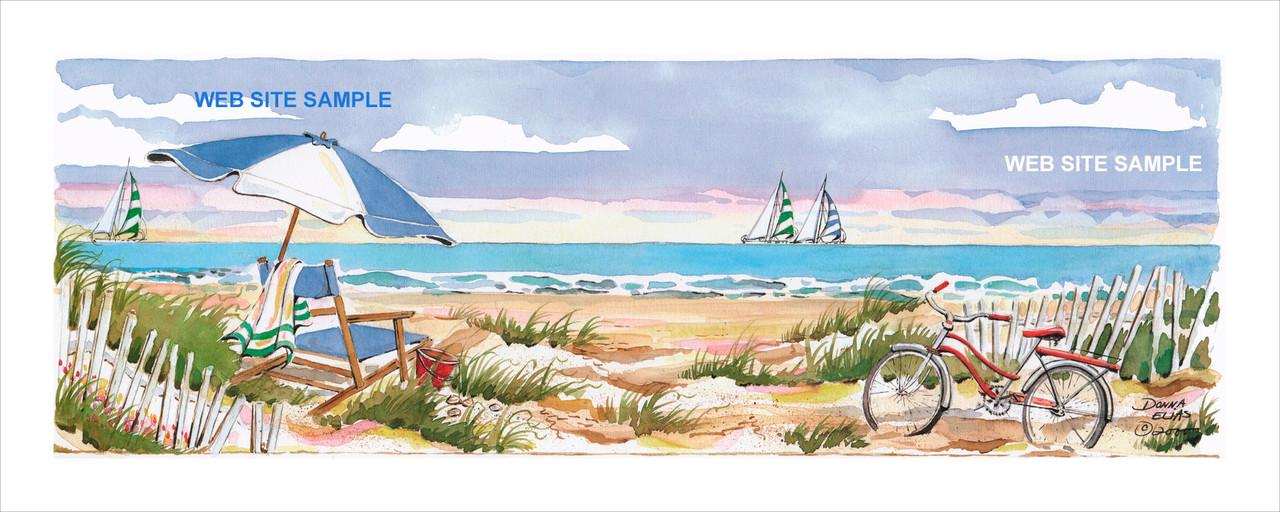 Beach Bicycle III copyright Donna Elias.