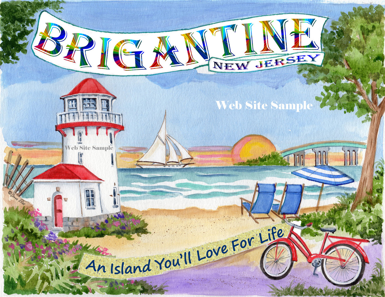 Brigantine Beach, New Jersey copyright Donna Elias