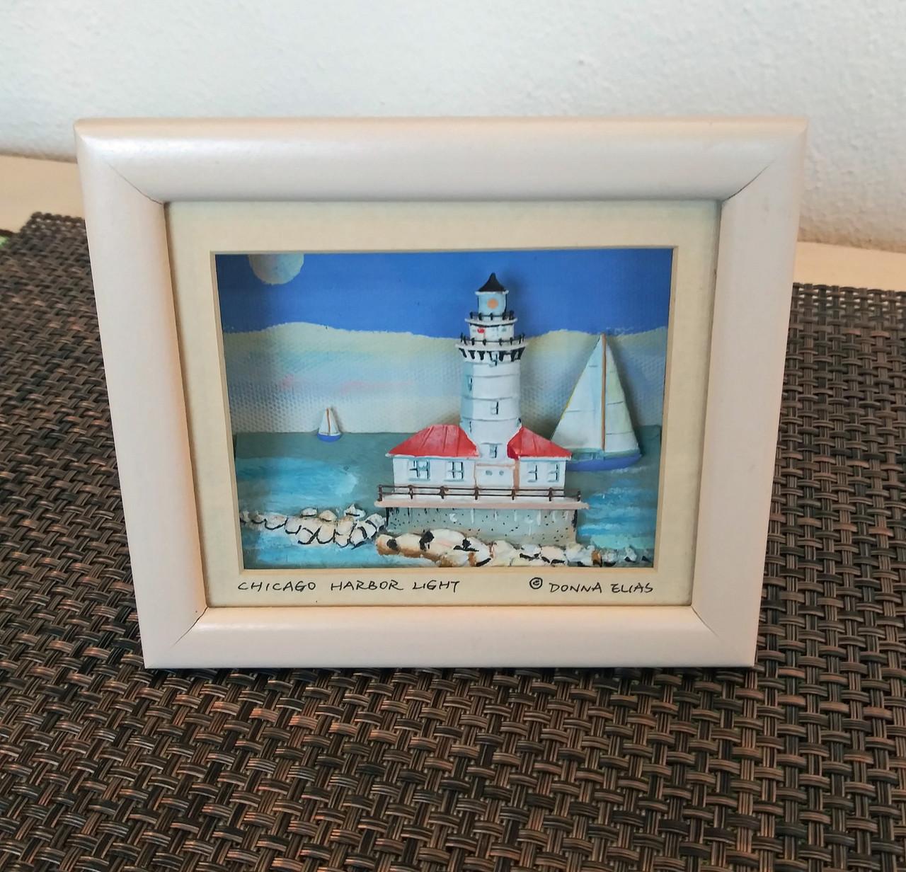 Chicago Harbor Lighthouse copyright Donna Elias