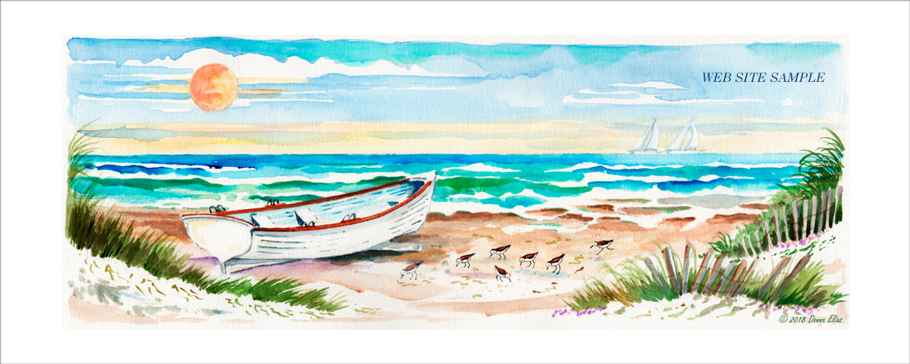 Surfboat Serenity Two copyright Donna Elias