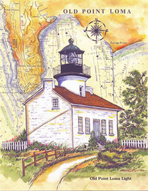 Old Point Loma Lighthouse copyright Donna Elias