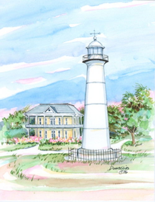 Biloxi Lighthouse copyright Donna Elias