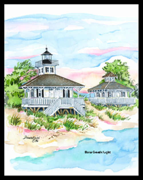 Boca Grand Lighthouse copyright Donna Elias