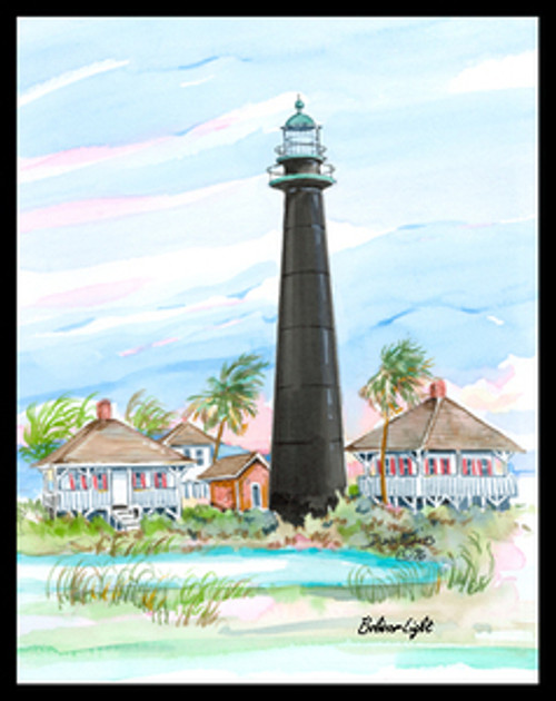 Bolivar Lighthouse by Donna Elias