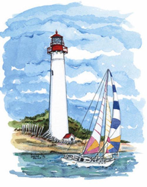 Cape May Lighthouse copyright Donna Elias