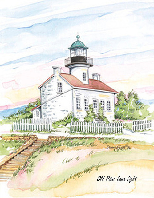 Point Loma Lighthouse Copyright Donna Elias