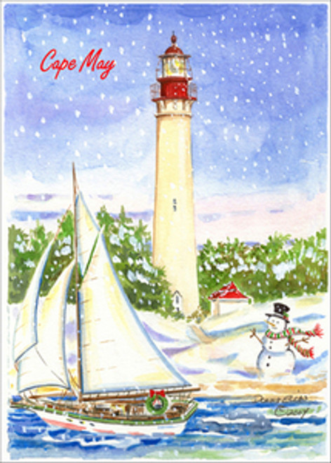 Cape May Lighthouse - Winter's Light