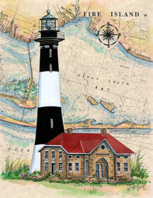 Fire Island Lighthouse by Donna Elias