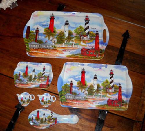 ON SALE! Florida Tray Set by Donna Elias
