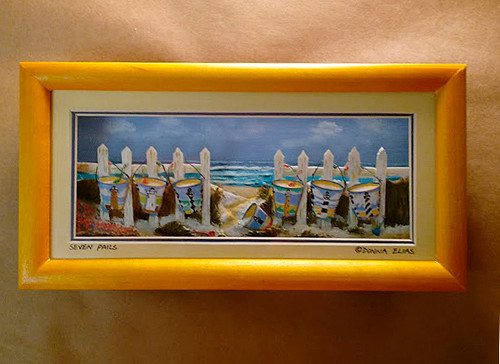 Seven Pails - 3-D Shadow Box Panorama