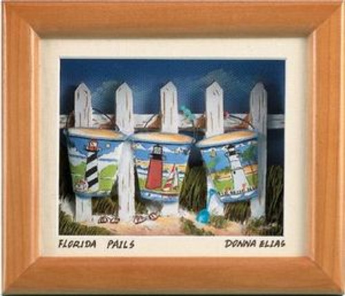 Florida Pails - 3D Shadow Box
