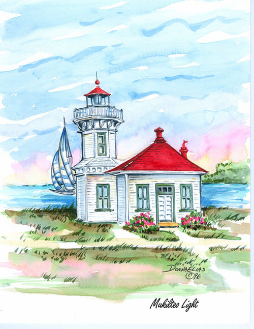 Mukilteo Lighthouse copyright Donna Elias