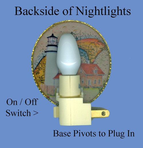 "Cape Neddick ""Nubble"" Lighthouse Night Light"