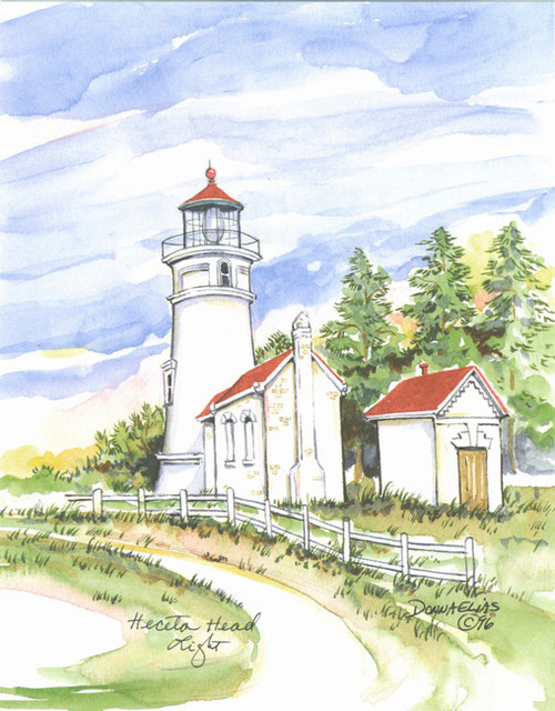 Heceta head Lighthouse copyright Donna Elias