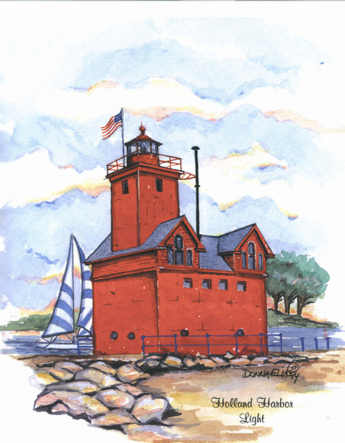 "Holland Harbor ""Big Red"" Lighthouse"