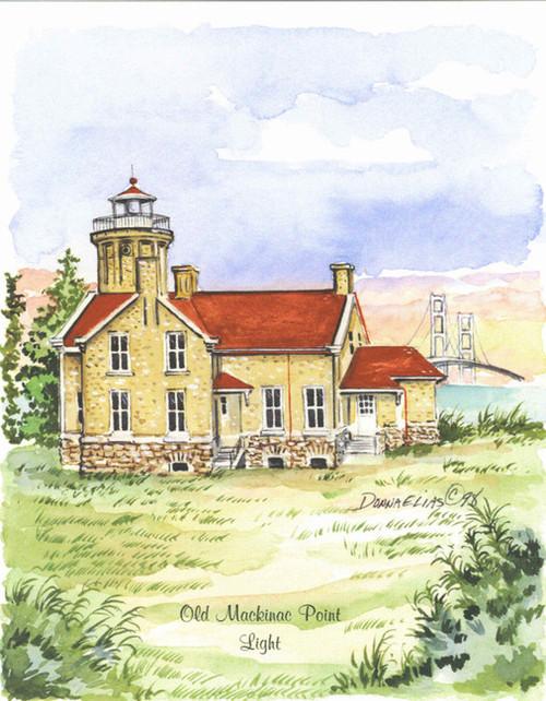 Old Mackinac Point Lighthouse copyright Donna Elias