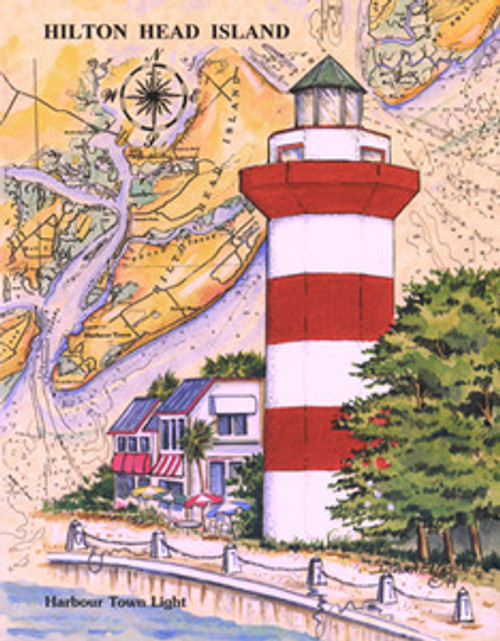 Harbour Town Lighthouse by Donna Elias