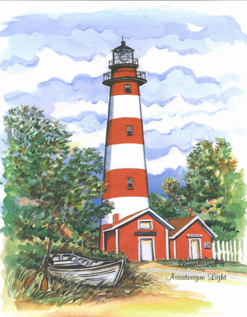 Assateaque Island Lighthouse copyright Donna Elias
