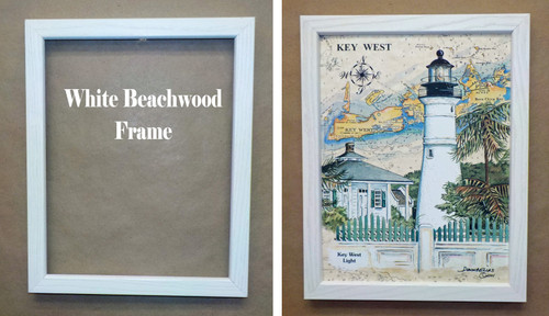 Boca Grande Lighthouse Sea Chart