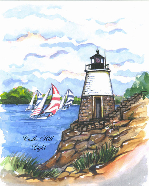 Castle Hill Lighthouse copyright Donna Elias
