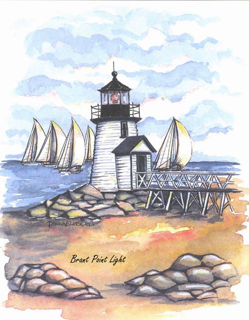 Brant Point Lighthouse copyright Donna Elias