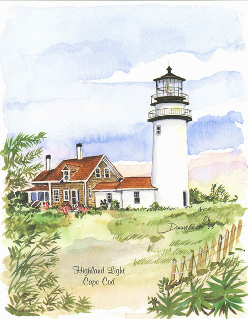Cape Cod Highland Lighthouse copyright Donna Elias