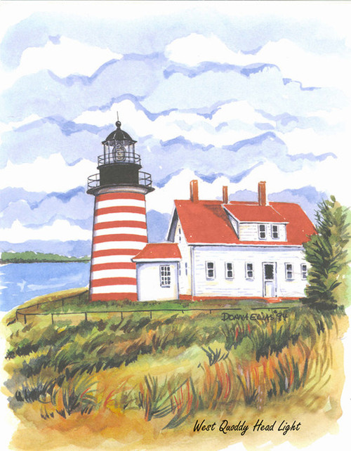 West Quoddy Hill Lighthouse copyright Donna Elias