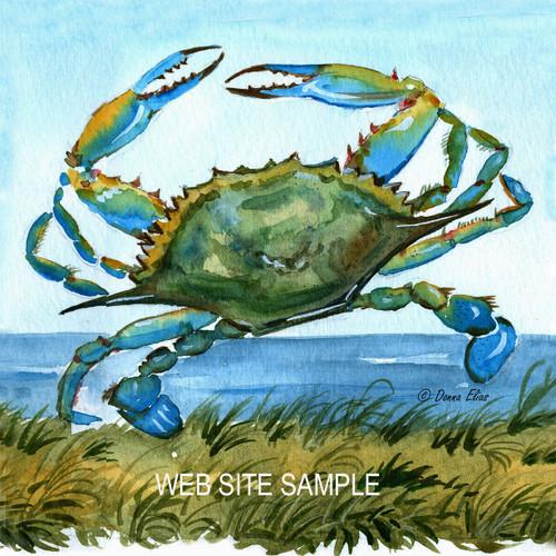Blue Crab Tile & Trivet