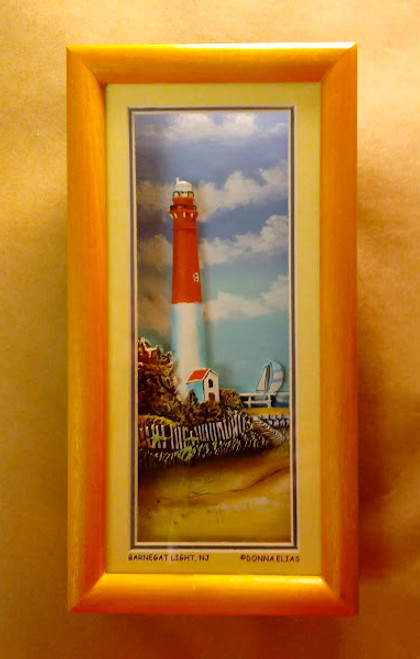 Barnegat Lighthouse - 3-D Shadow Box Panorama