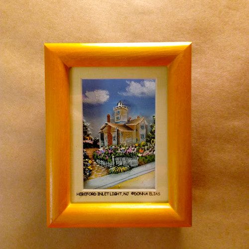 Hereford Inlet Lighthouse - 3D Shadow Box