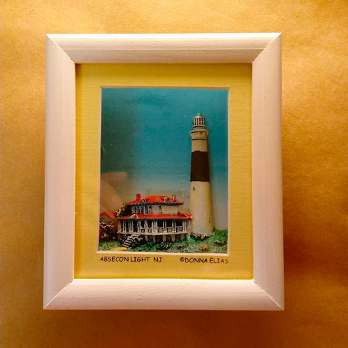 Absecon Lighthouse - 3D Shadow Box