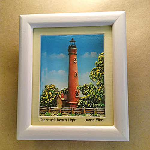 Currituck Beach Lighthouse by Donna Elias