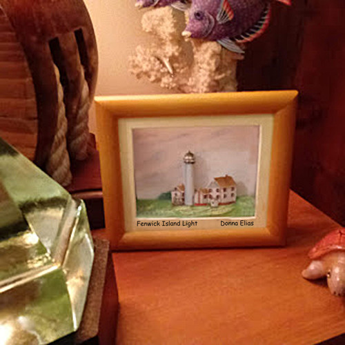Fenwick Island Lighthouse - 3D Shadow Box