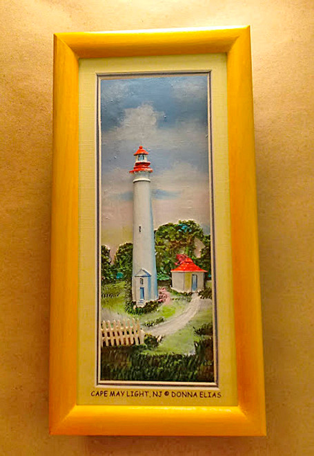 Cape May Lighthouse - 3-D Shadow Box Panorama
