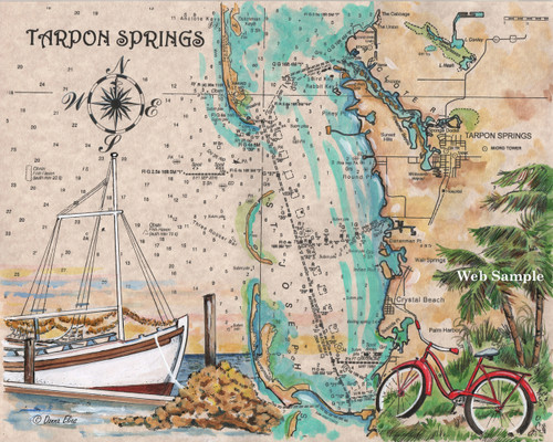Charting Tarpon Springs