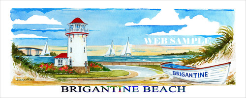 Brigantine Beach with Title