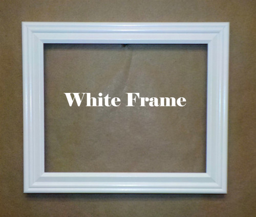 "8"" x 10"" White Picture Frame"