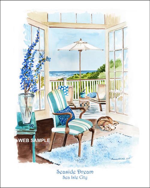 Seaside Dream - Sea Isle City by Donna Elias