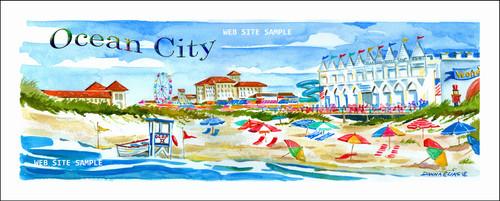 """Ocean City, New Jersey"" copyright Donna Elias"