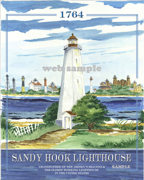 Sandy Hook Lighthouse copyright Donna Elias
