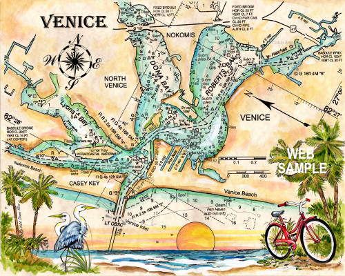 Venice - Charting Venice, Florida