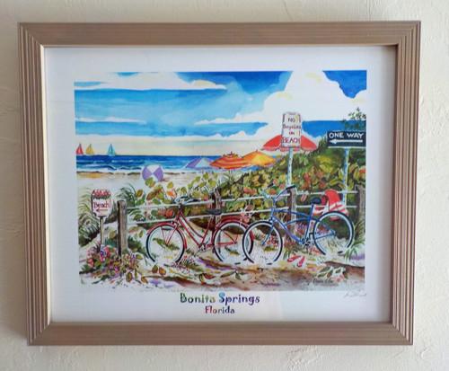 No Bikes on Beach - Bonita Springs copyright Donna Elias