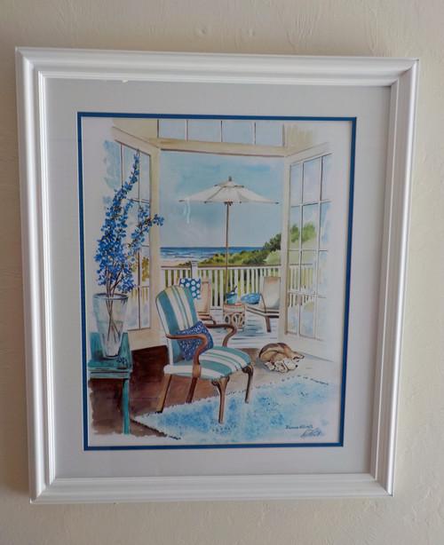 Seaside Dream original painting copyright Donna Elias