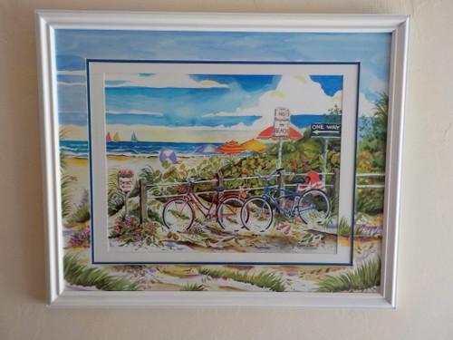 No Bikes on Beach copyright Donna Elias