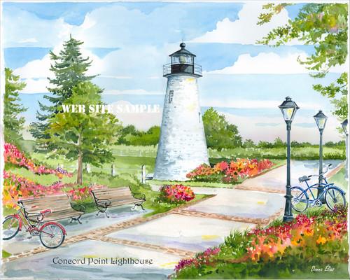 Concord Point Lighthouse copyright Donna Elias.