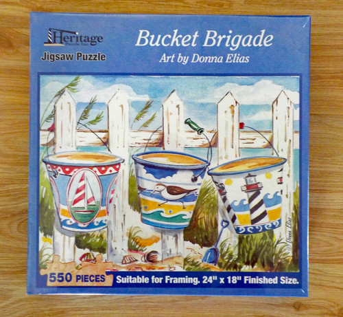 Bucket Brigade 550 Piece Jig Saw Puzzle